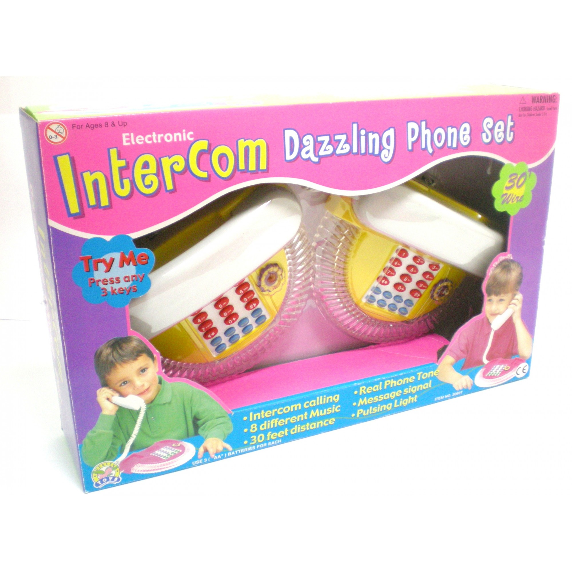 Dazzling Intercom Phone Set