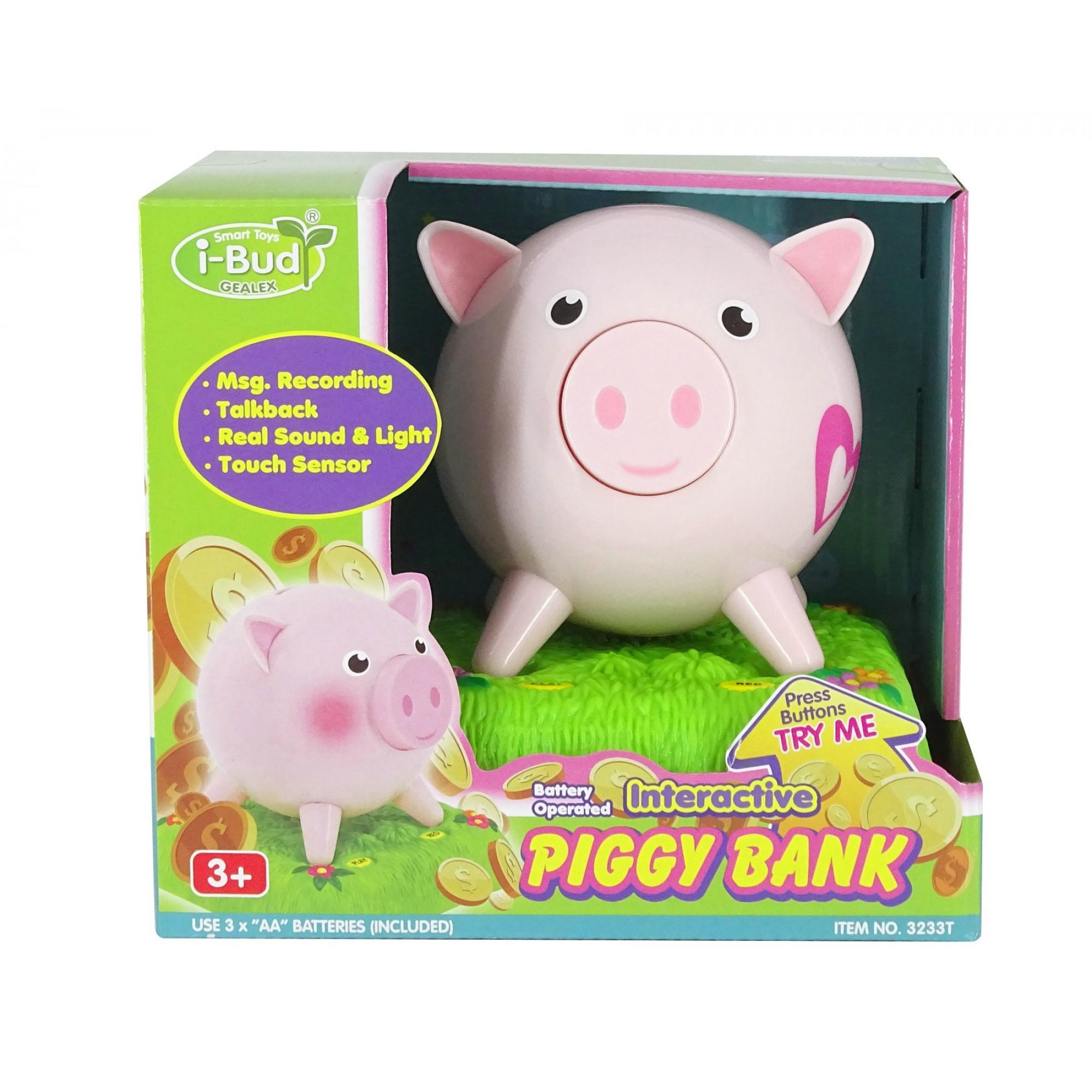 Recordable Piggy Saving Bank