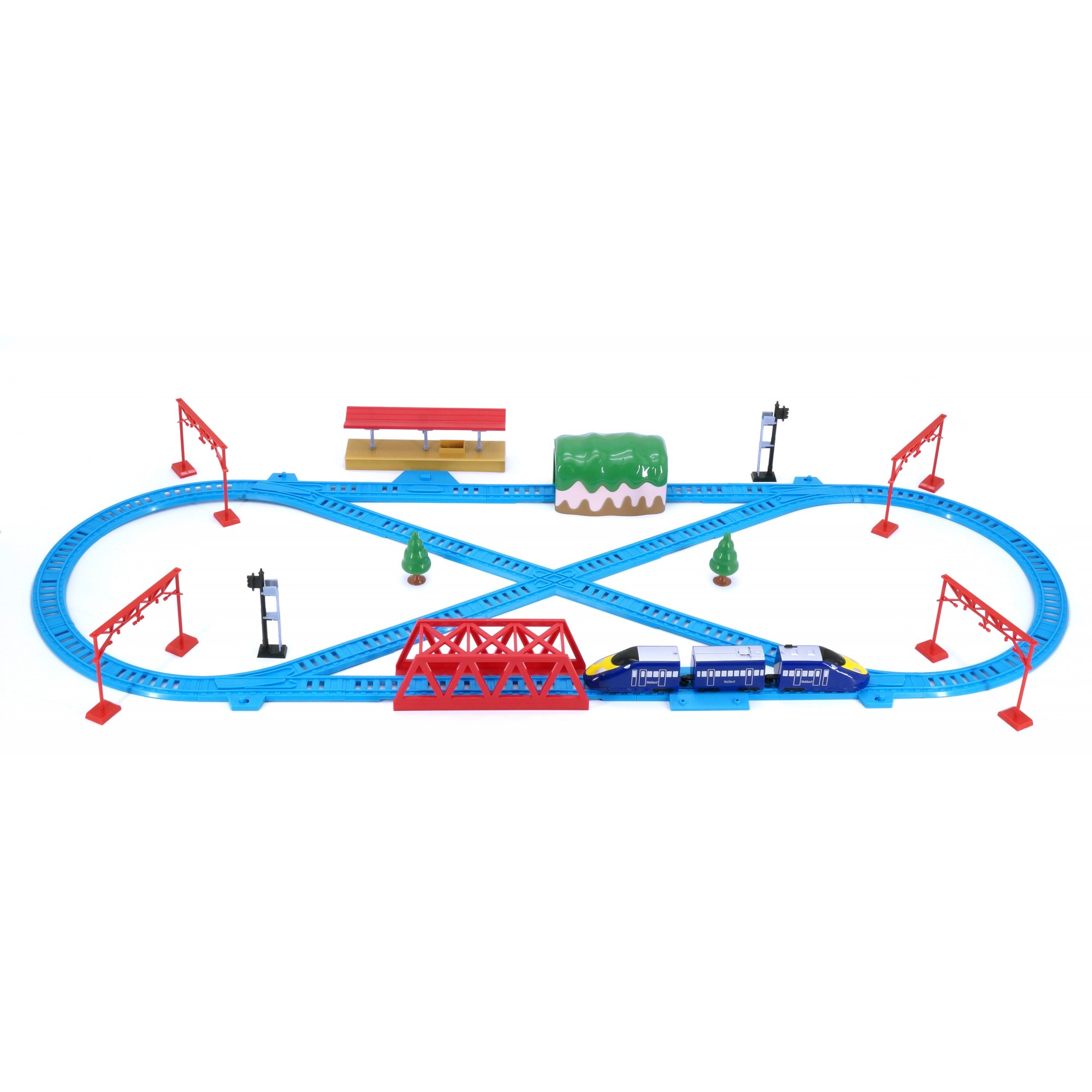 Hi Speed Express Rail Play Set (London)