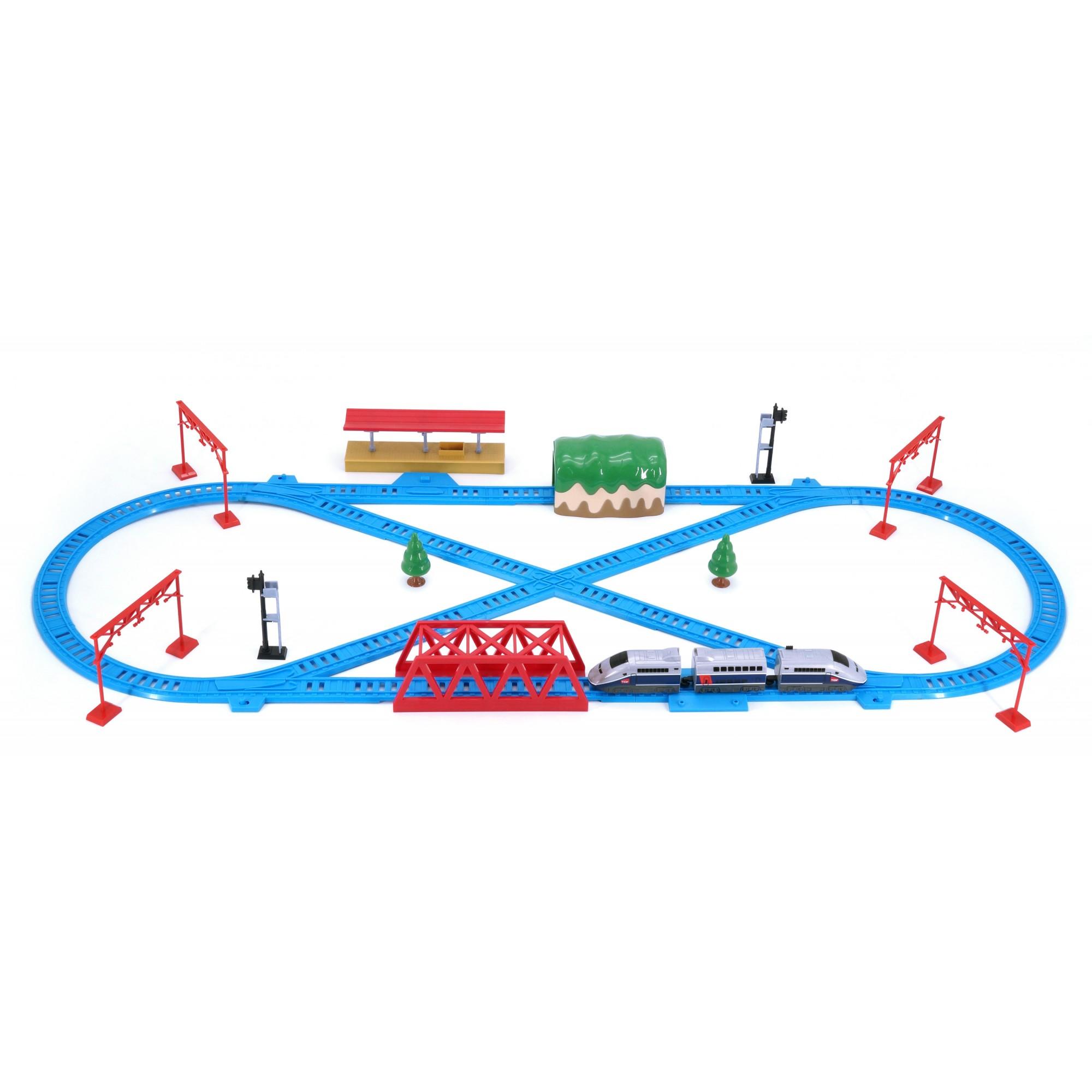 Hi Speed Express Rail Play Set (France TGV)