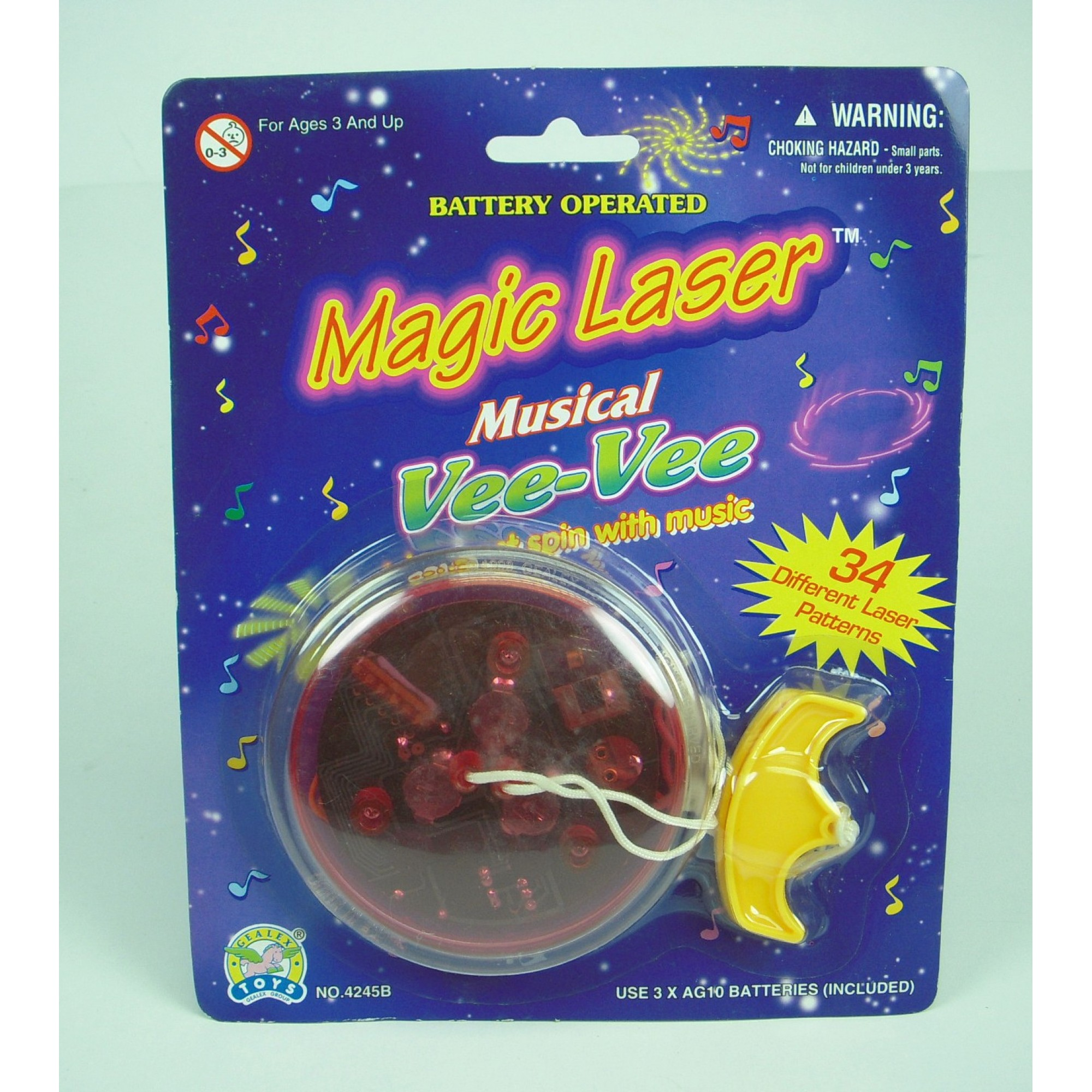 Magic Laser Vee Vee