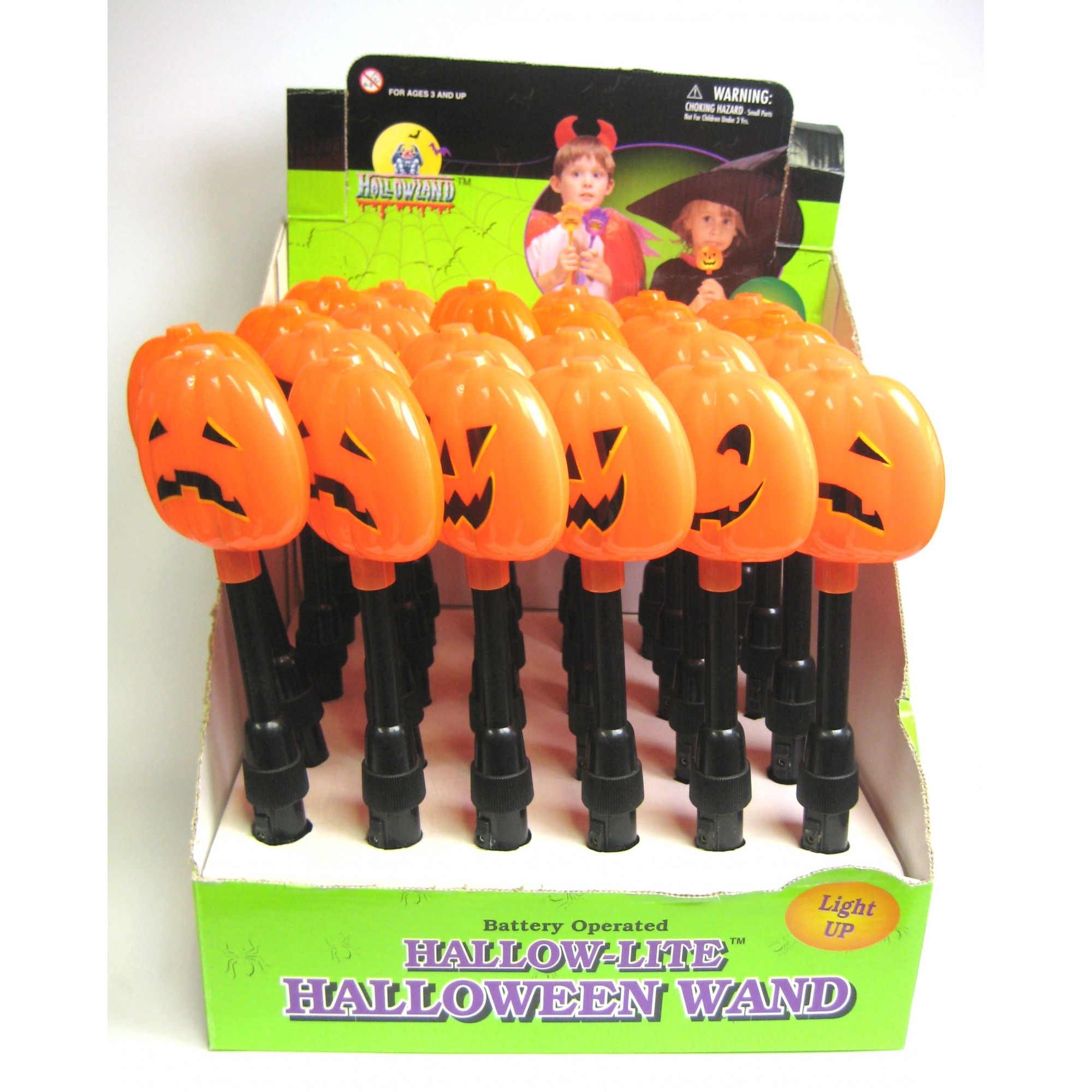 Halloween Lite-Up Pumpkin Torch
