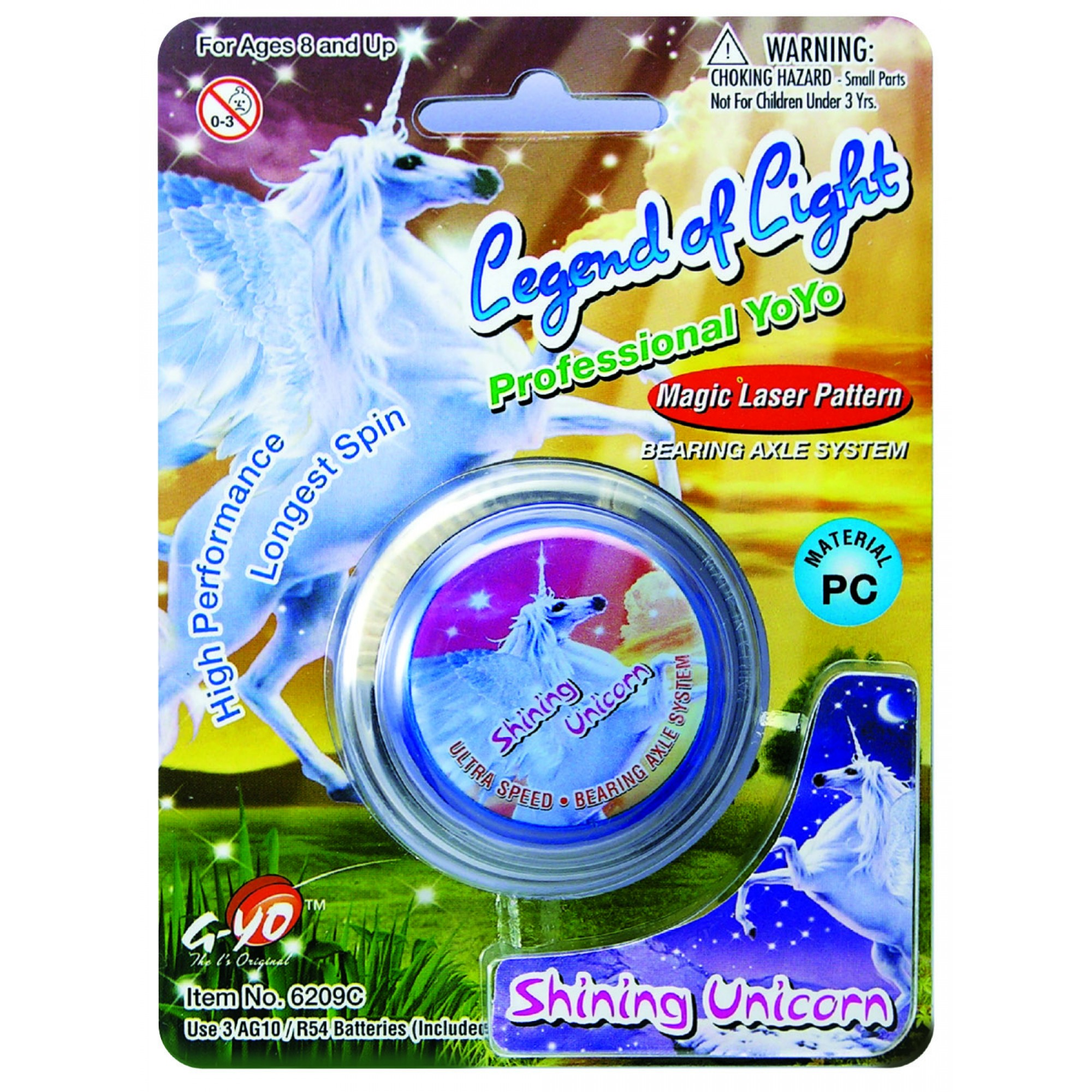 Legend Of Light - Laser Yoyo (Shining Unicorn)