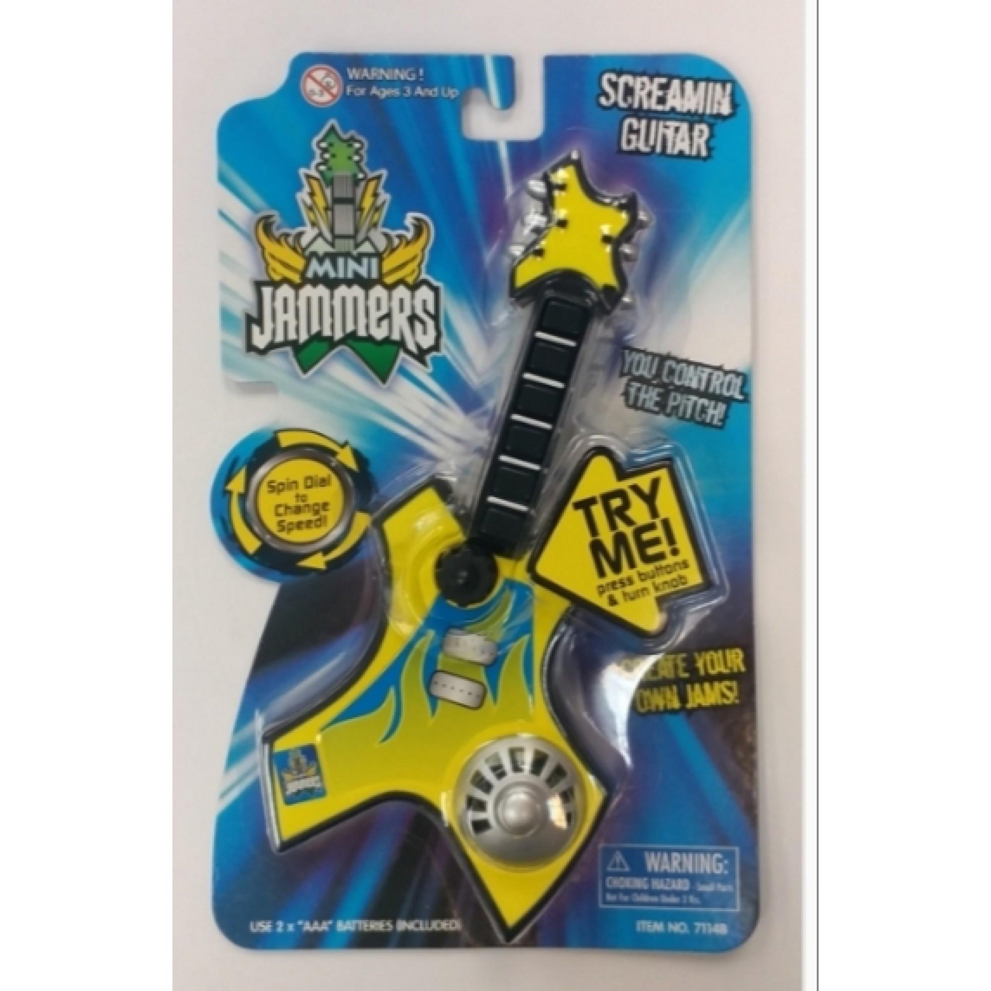 Mini Jammers - Screamin Guitar
