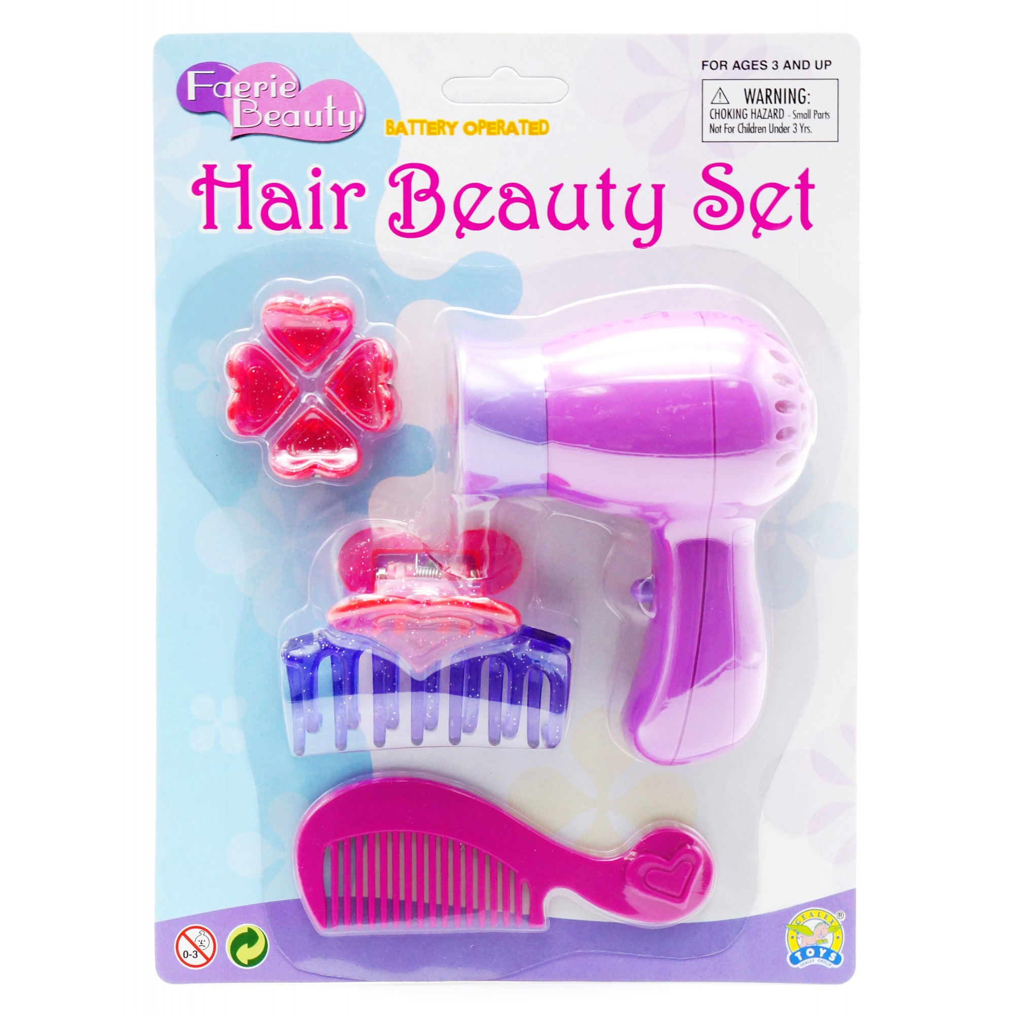 Heart Hair Beauty Set