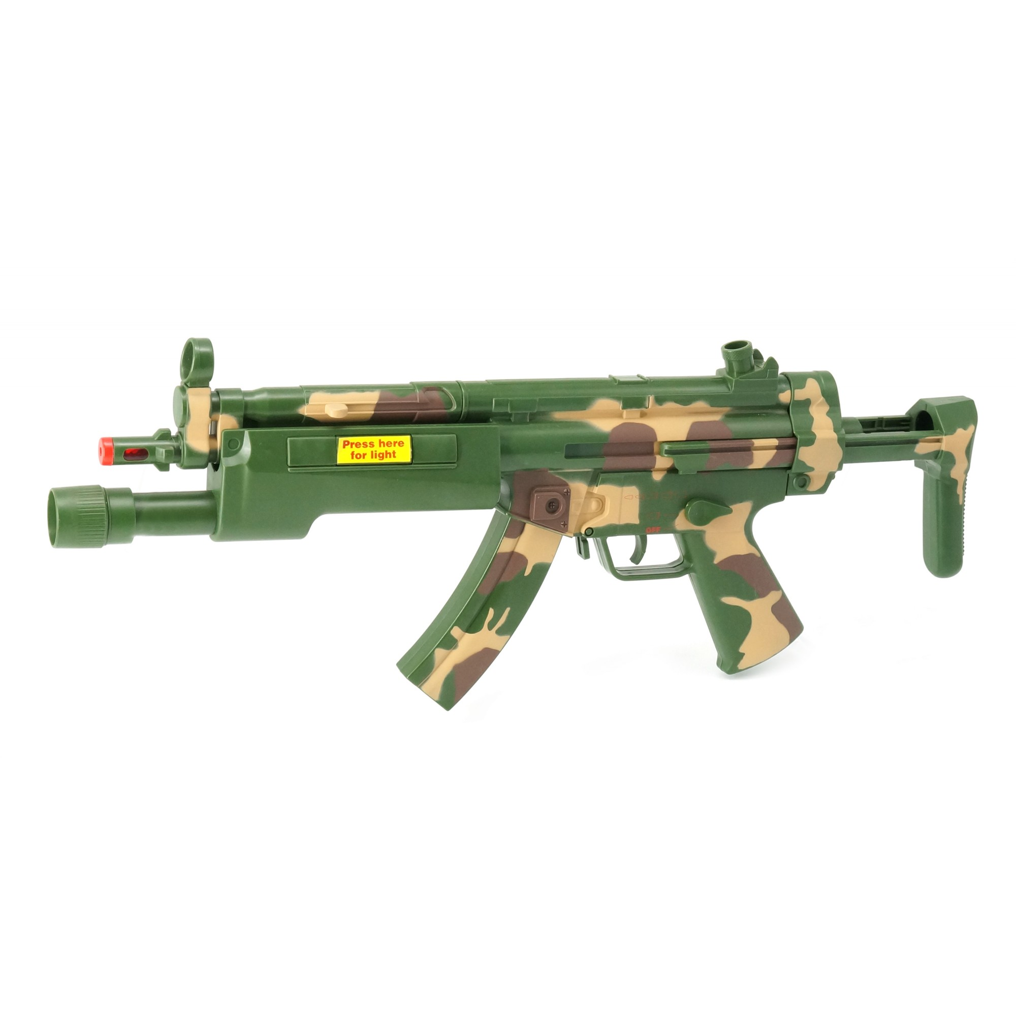 Combat MP5 A5 W/Light, Sound, Vibration