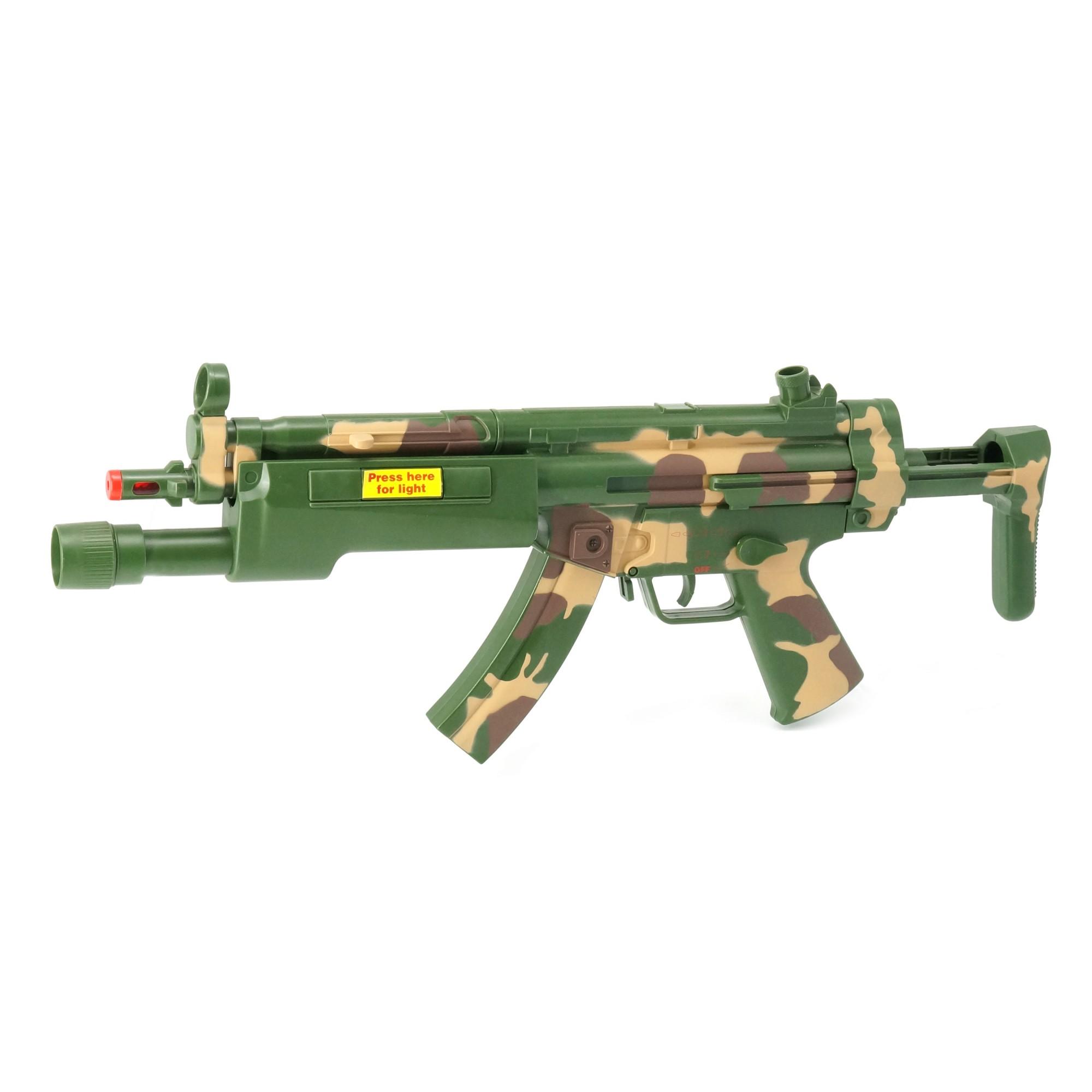 Combat MP5 A5 W/Light, Sound, Vibration