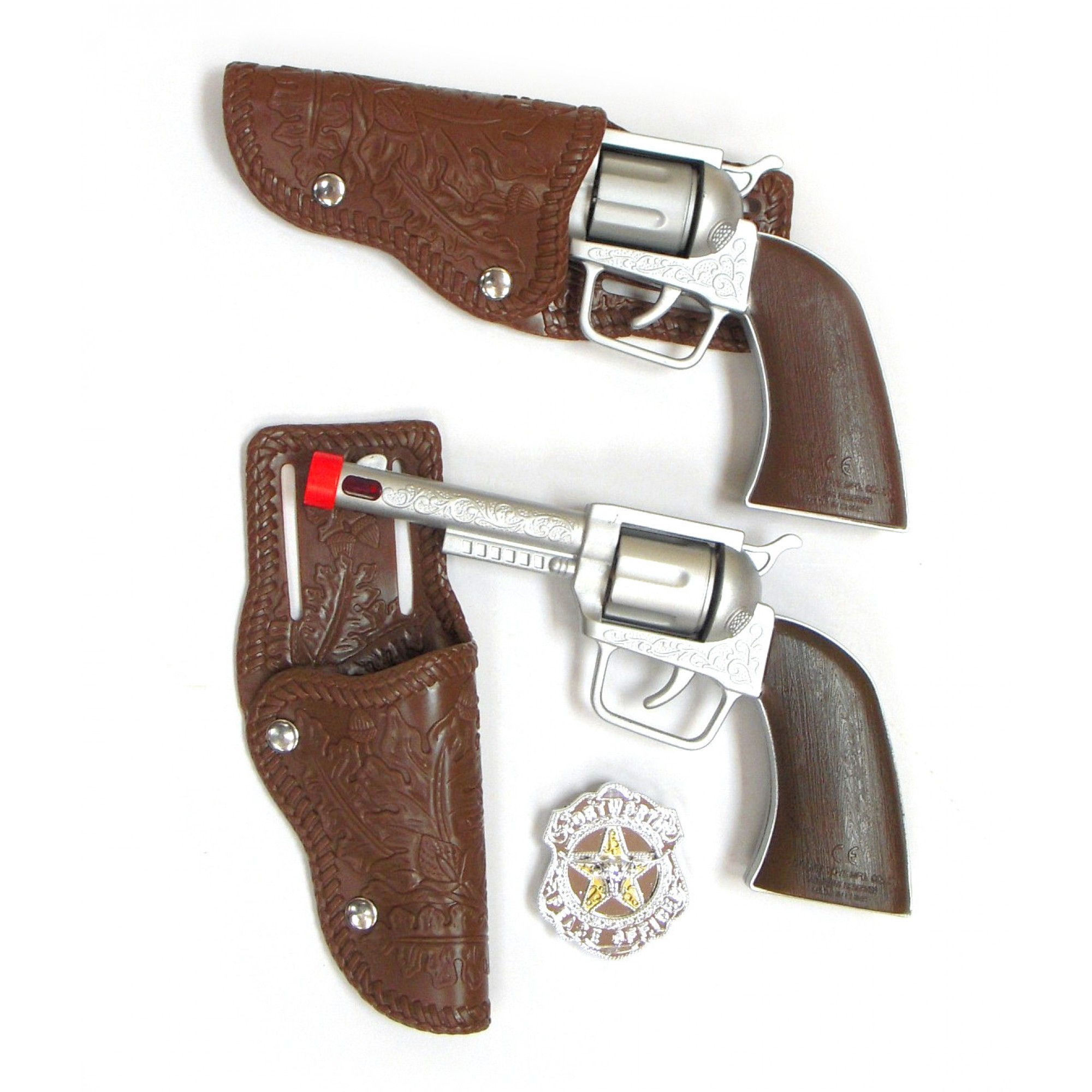 Cow Boy Twin Small Gun Set