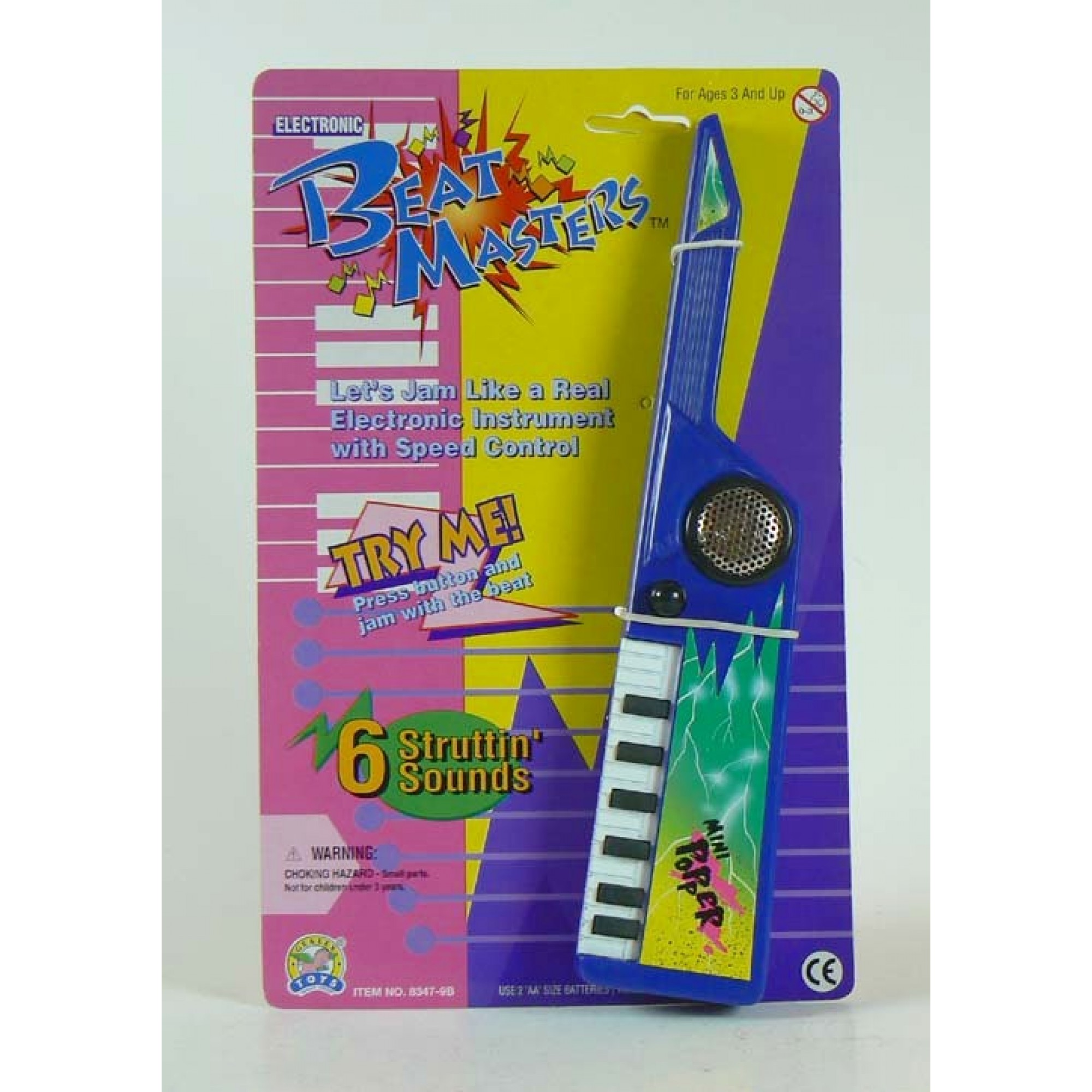 Electronic Mini Popper Player