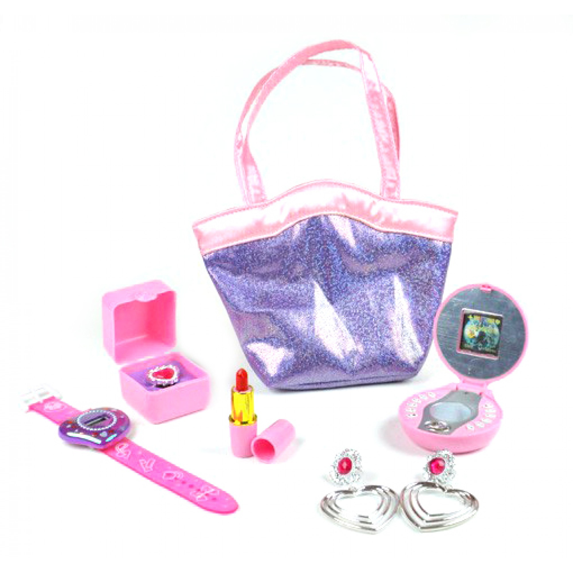 Cosmetic Phone & Watch Set
