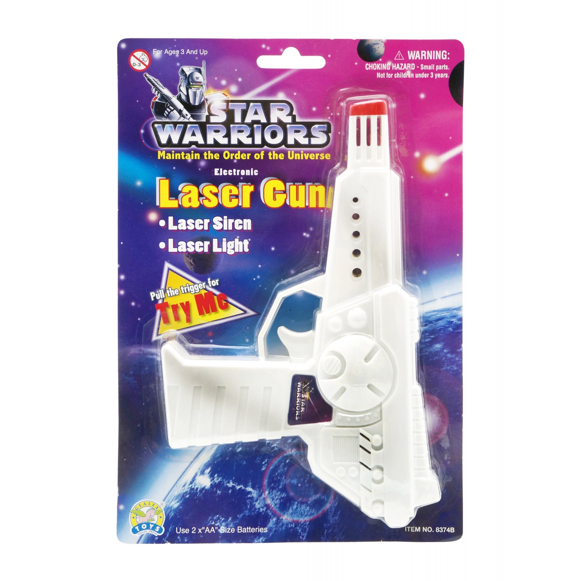 Star Warriors Electronic Laser Gun