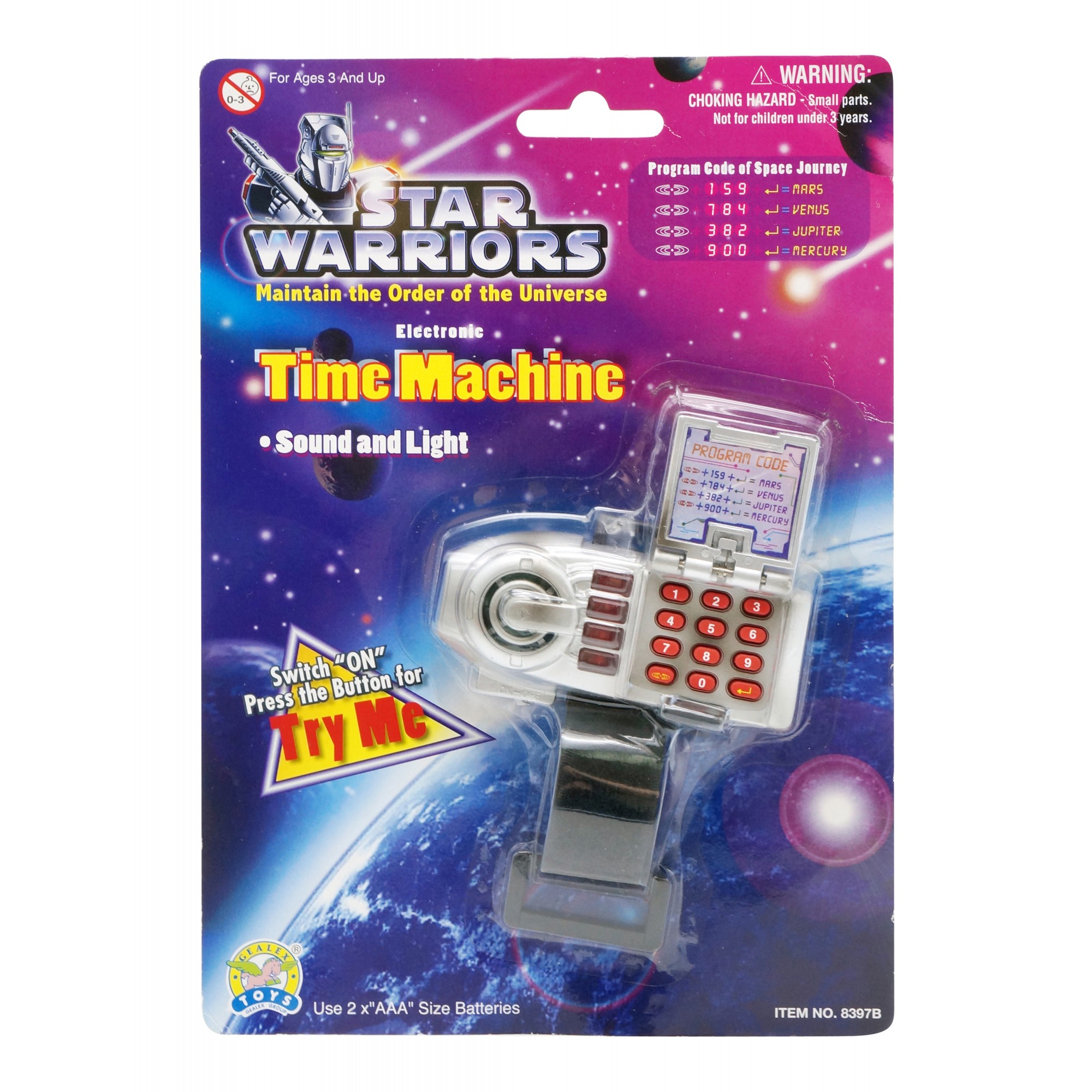 Star Warriors Time-Tunnel Machine